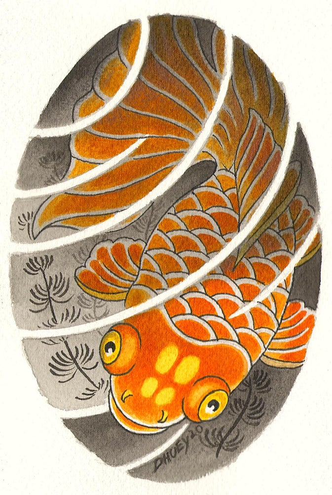 Image of Kingyo/goldfish