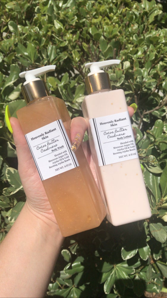 Image of Coco butter Cashmere Body Wash & Lotion