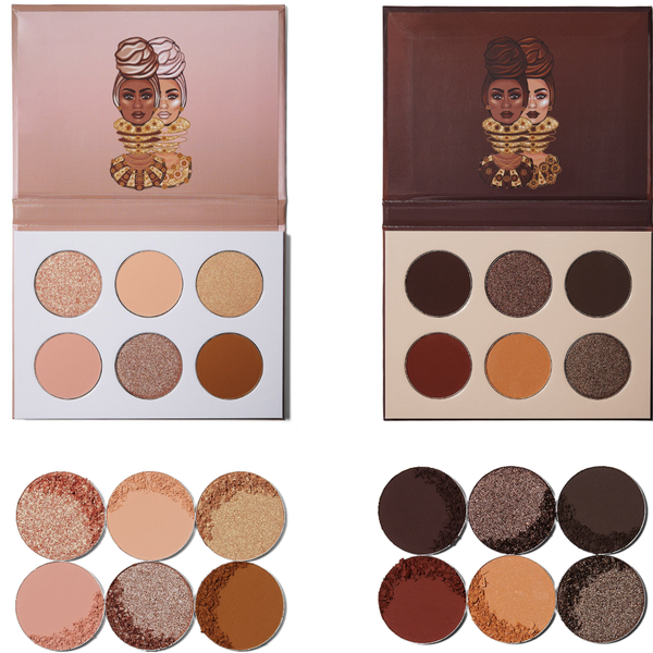 Image of Juvia's Place The Chocolates & The Nudes Palettes Bundle