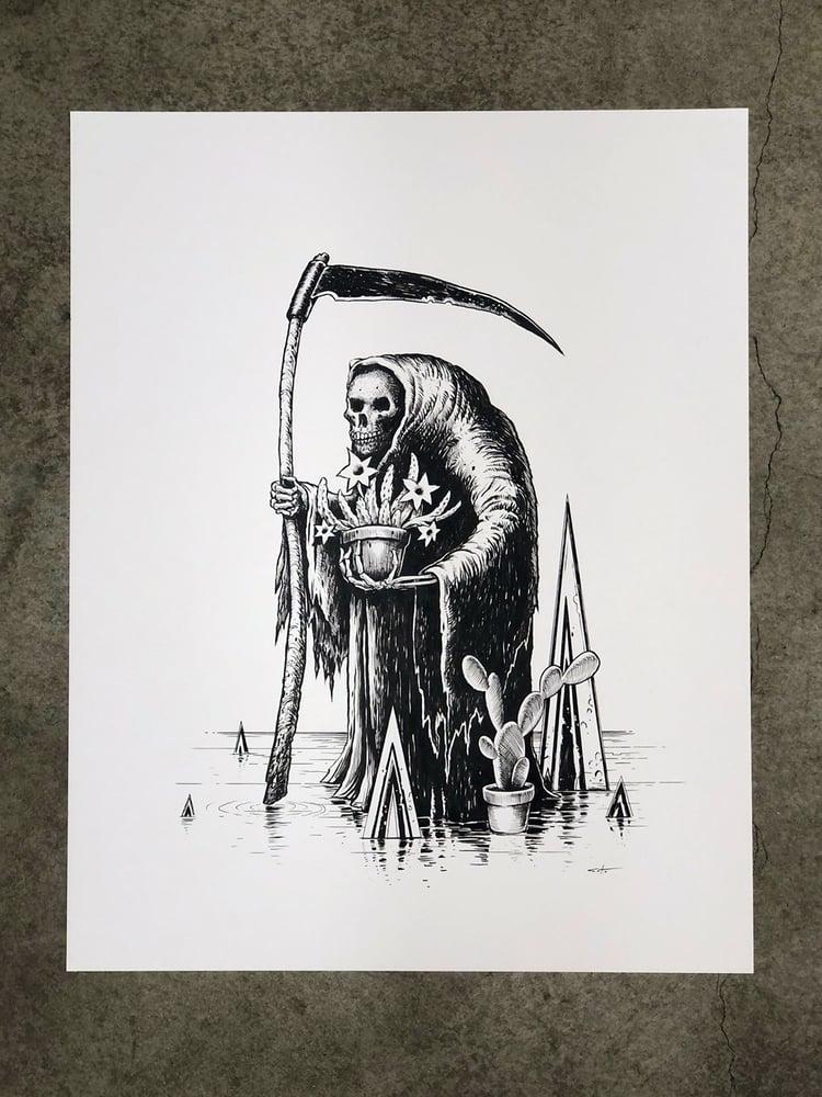 Image of The Gardener Original Inking