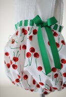 Image 3 of Vintage Cherry Primrose Sunsuit