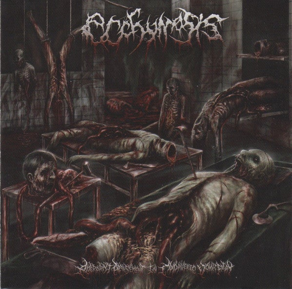 Image of ECCHYMOSIS - Aberrant Amusement In Cadaveric Vomitplay CD