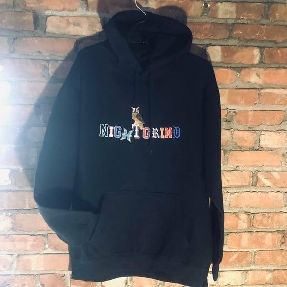 Image of NightGrind (Black) Hoodie