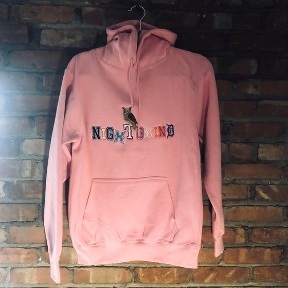 Image of NightGrind (Pink) Hoodie