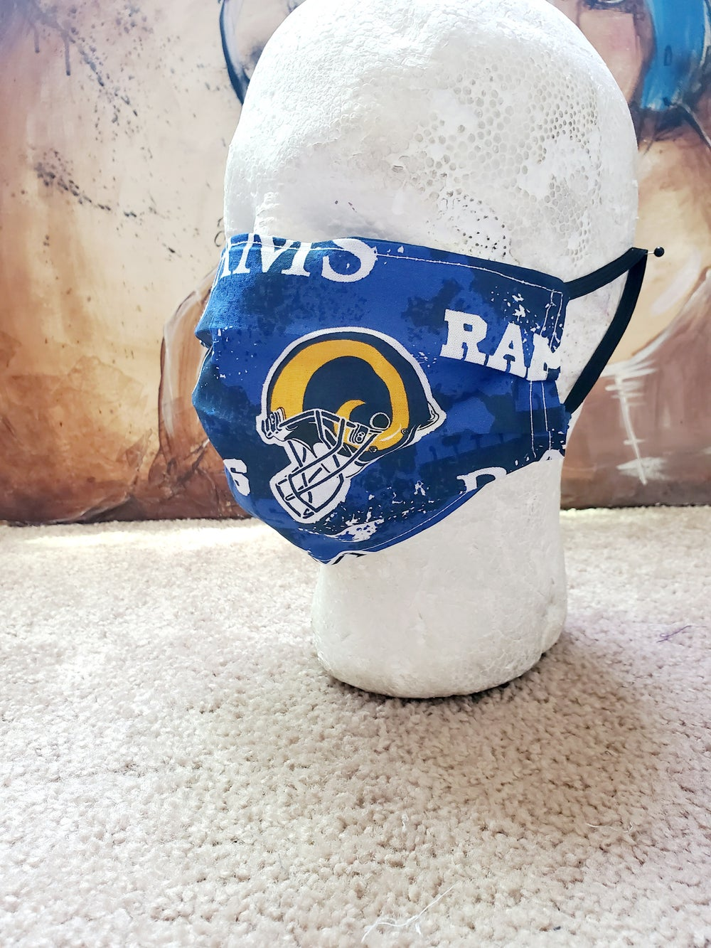 Los Angeles Ram Face Mask