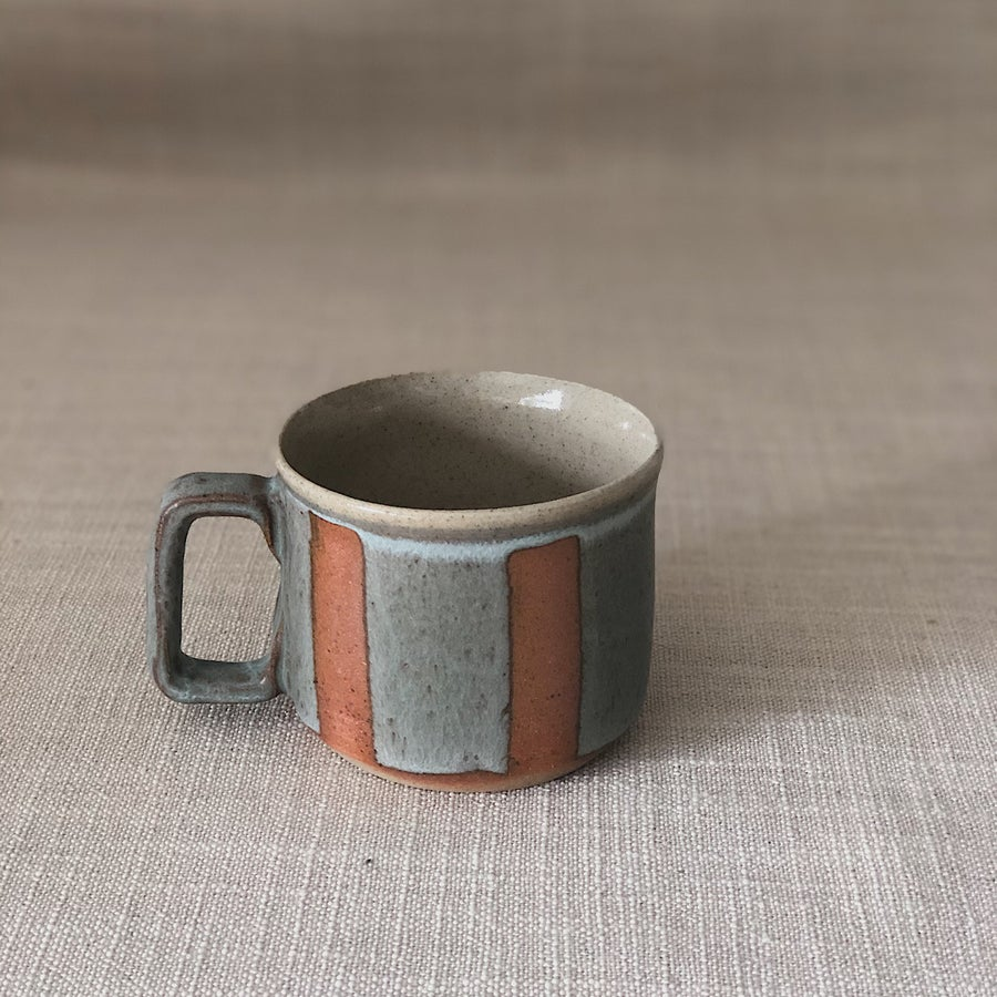 Image of HIGHWATER DARK STRIPY MUG