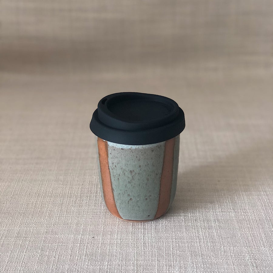 Image of HIGHWATER DARK STIPY CAR TRAVEL CUP