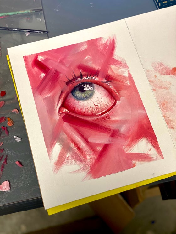 """Image of """"Power of sight"""" 9x12 PRINT"""