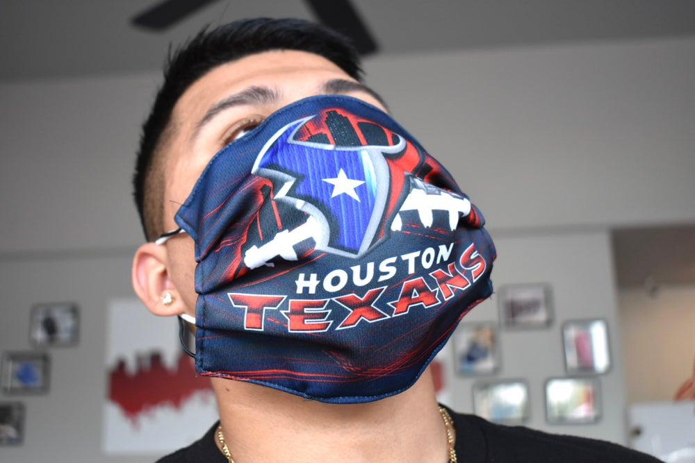 Image of Texans Face Mask