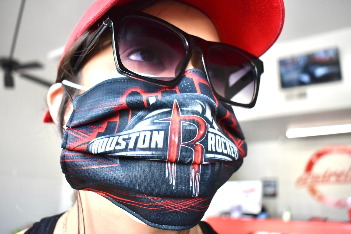 Image of Rockets Face Mask