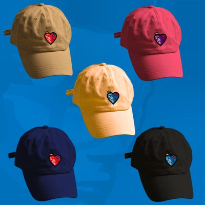 Image of HEART THROB DAD HAT