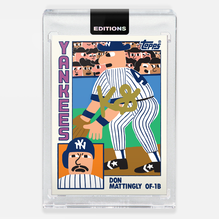 Image of 1984 Mattingly 'Gold'