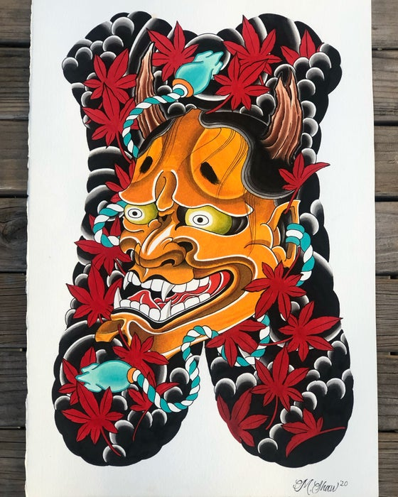 Image of Hannya Painting