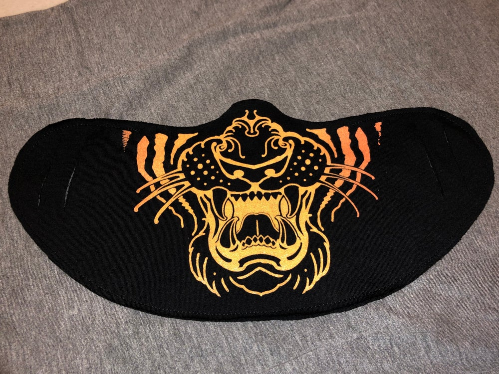 Image of Tiger Face Covers