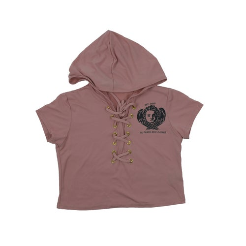 Image of Female Til Death Short Sleeve Hooded Suit