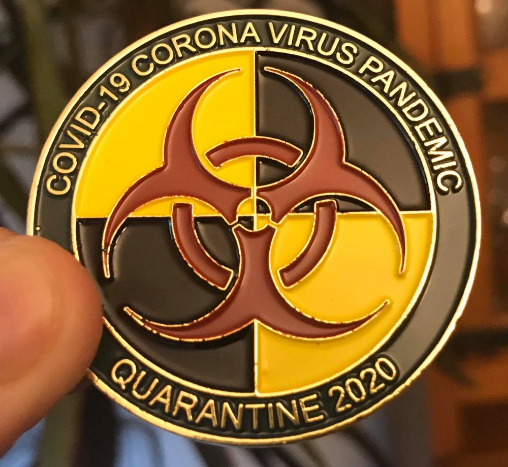 Image of COVID-19 CORONA VIRUS PANDEMIC - QUARANTINE 2020 (ONLY 100 ORDERED)