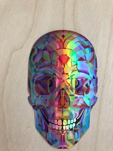 Image of Archive Skull Sticker