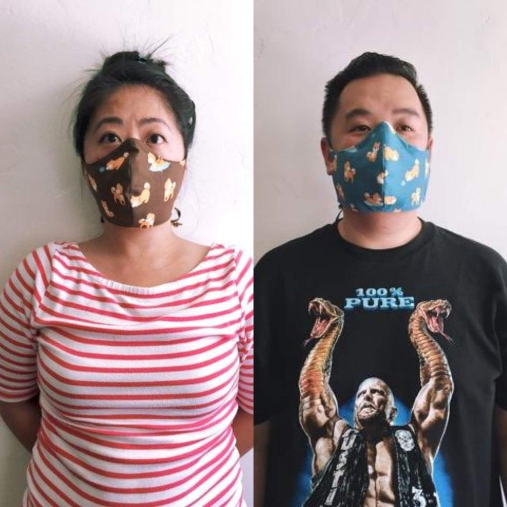 Image of Happy shiba mask