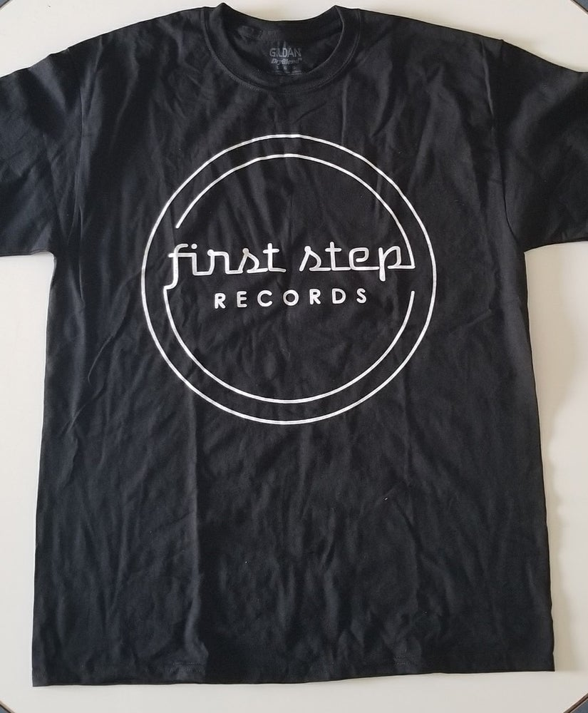 Image of First Step Records Logo Tee