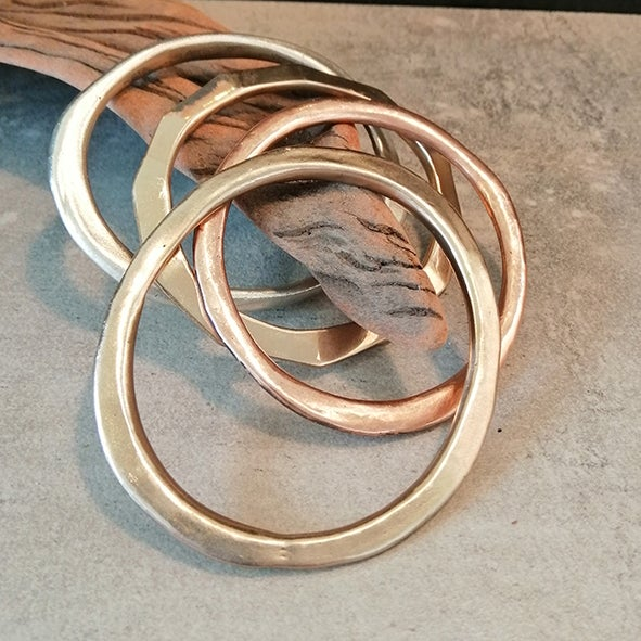 Image of Bronze bangle #11