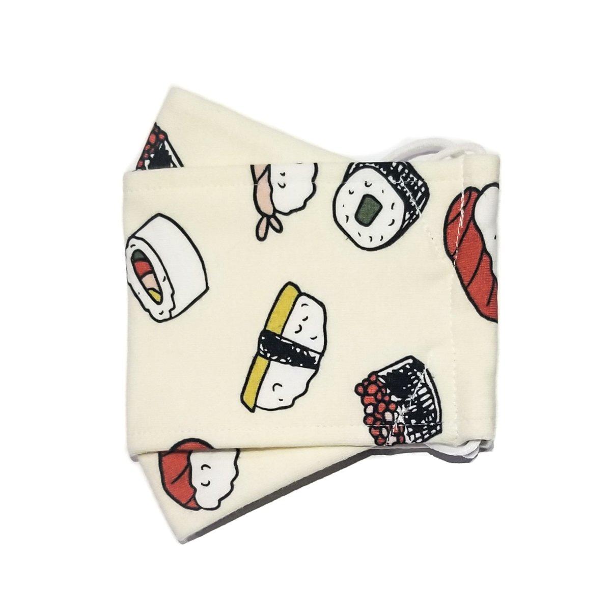 Limited Edition <br /> <br />3D Mask <br /> Sushi
