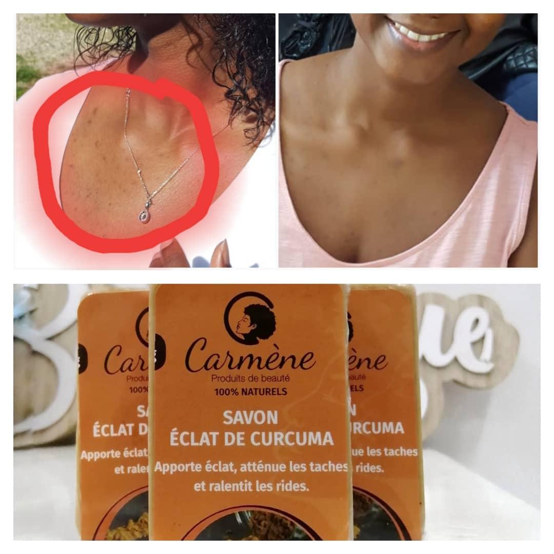 Image of Savon éclat de curcuma( visage & corps)