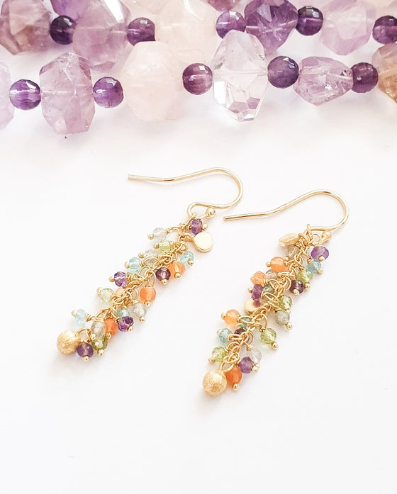 Image of Tutti Frutti Charm Earrings