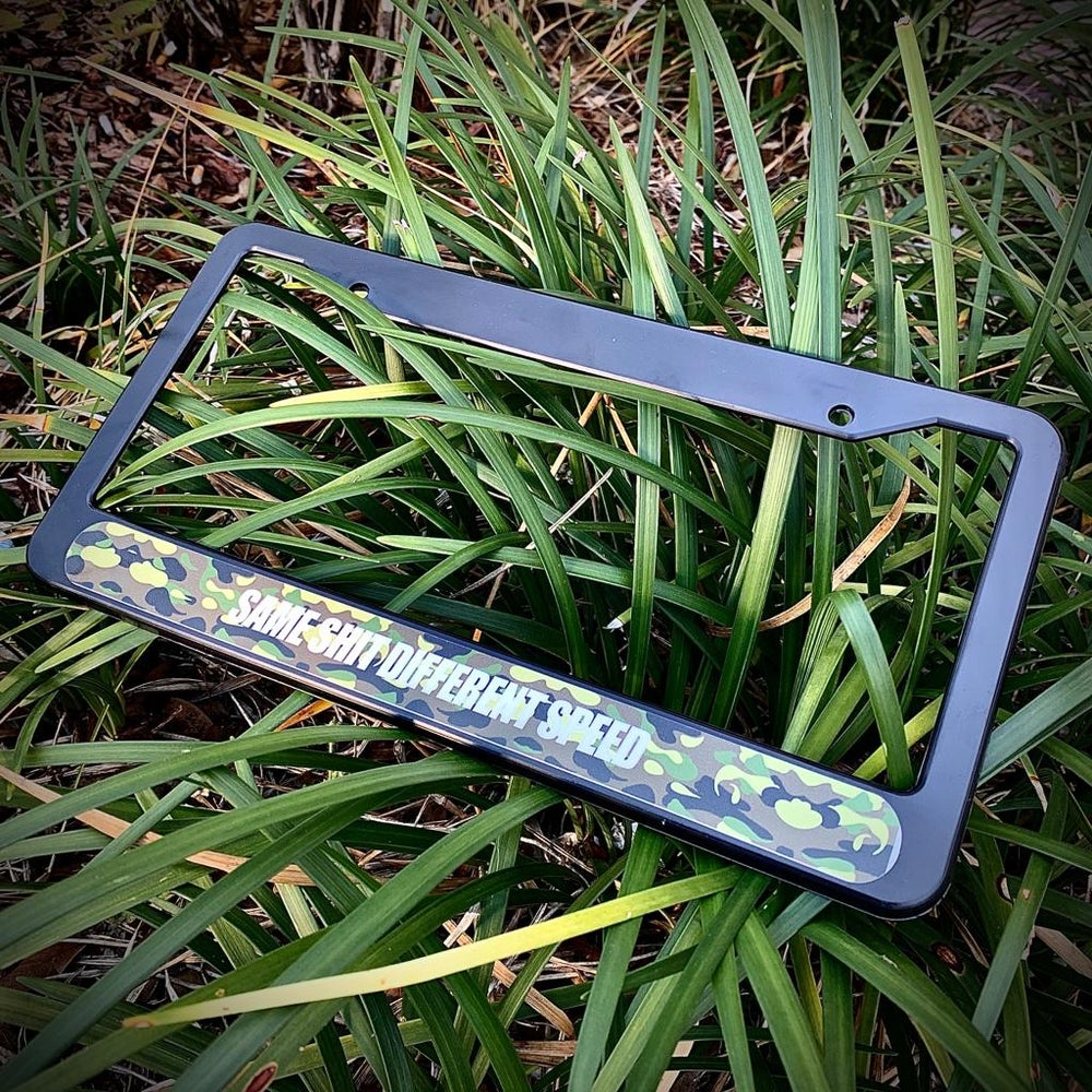Image of SAME SH*T PLATE FRAME