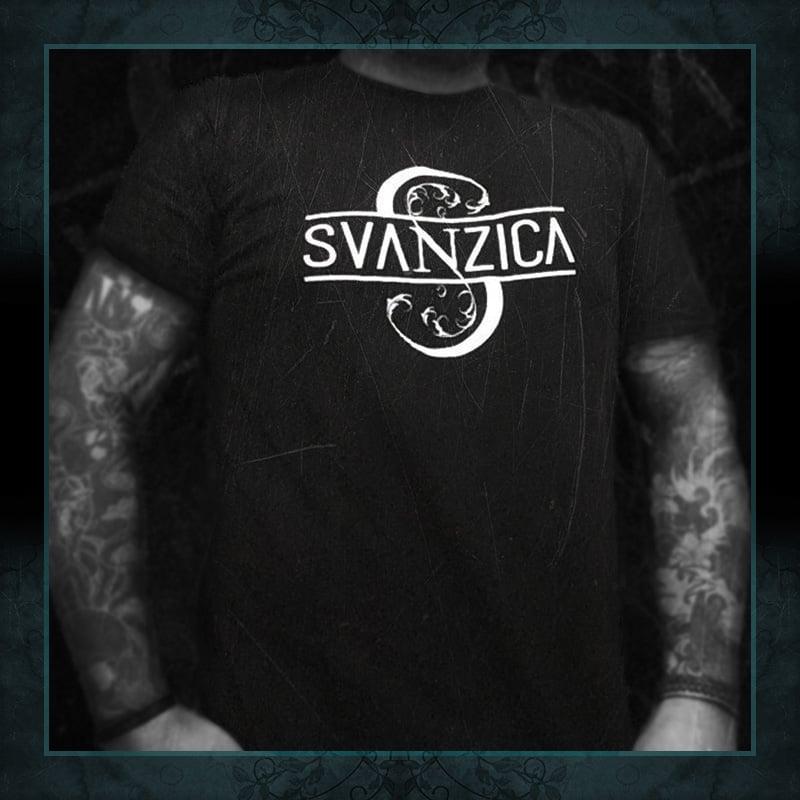 "Image of ""Dark Flowers Logo"" Black / T-shirt UNISEX"