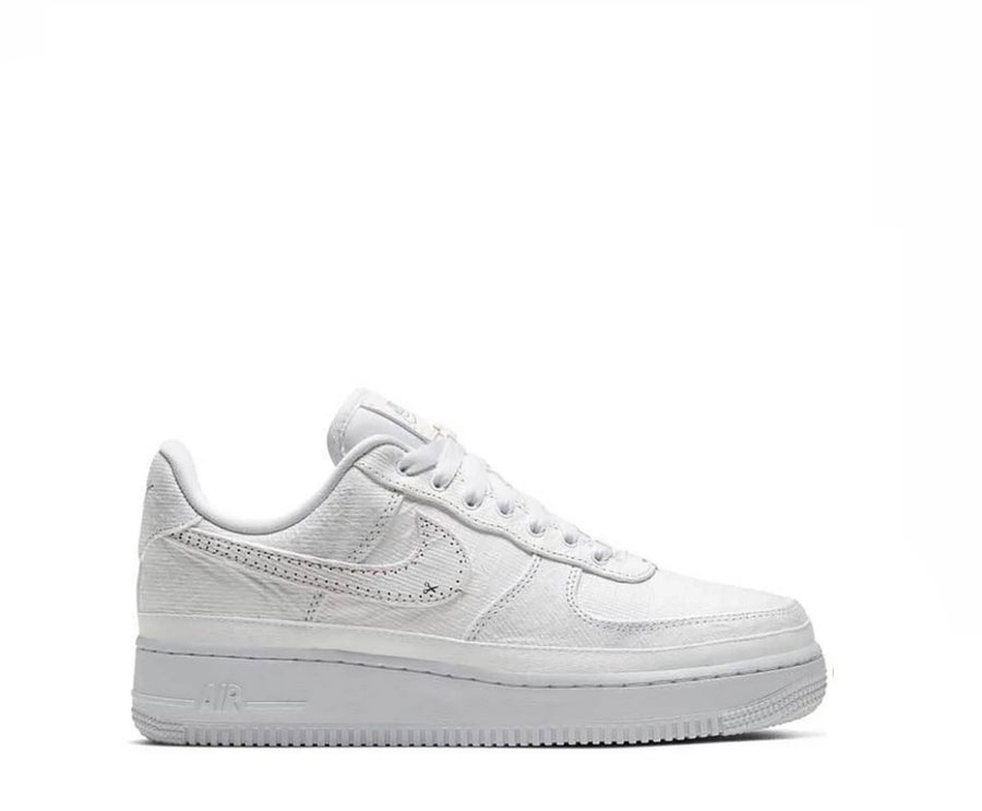 Image of NIKE AIR FORCE 1 LX TEAR AWAY WHITE CJ1650-101