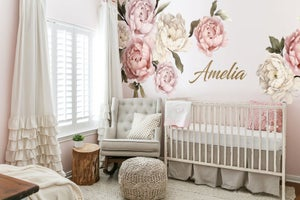 Image of Peony Wall Decal