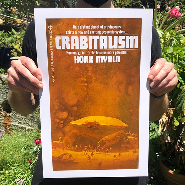 Image of Crabitalism - 11 x 17 Print