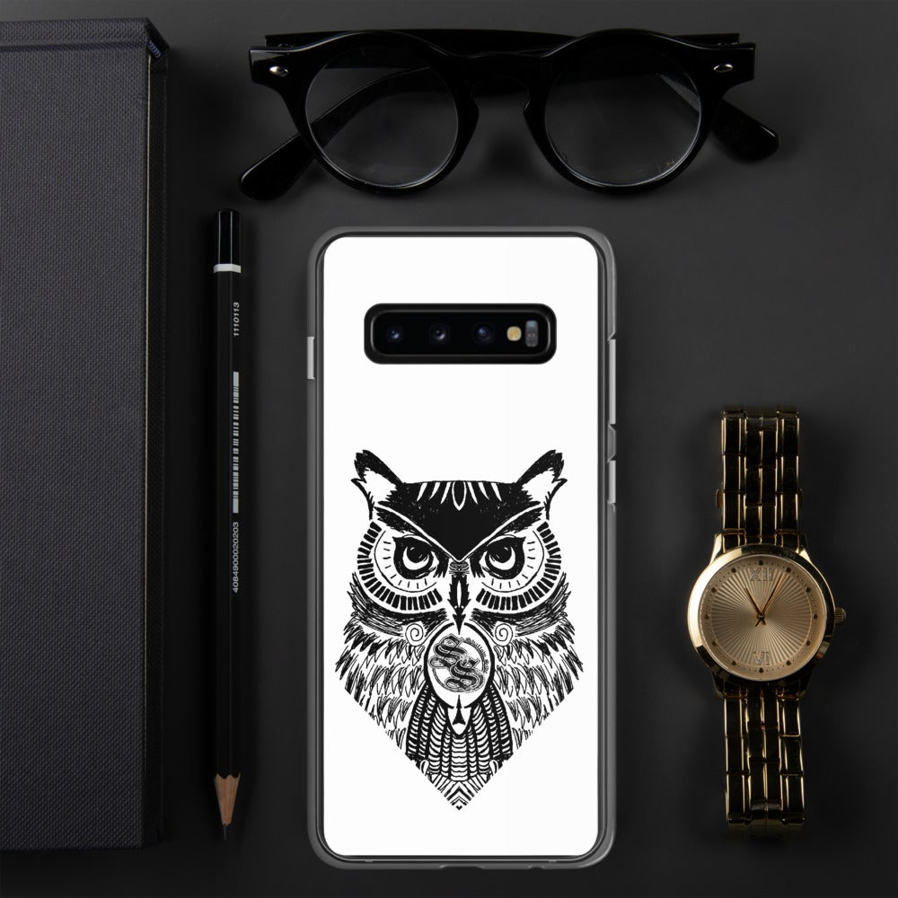 Shallow Side Owl Samsung Case