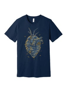 Image of I'll Bee in your heart navy shirt preorder