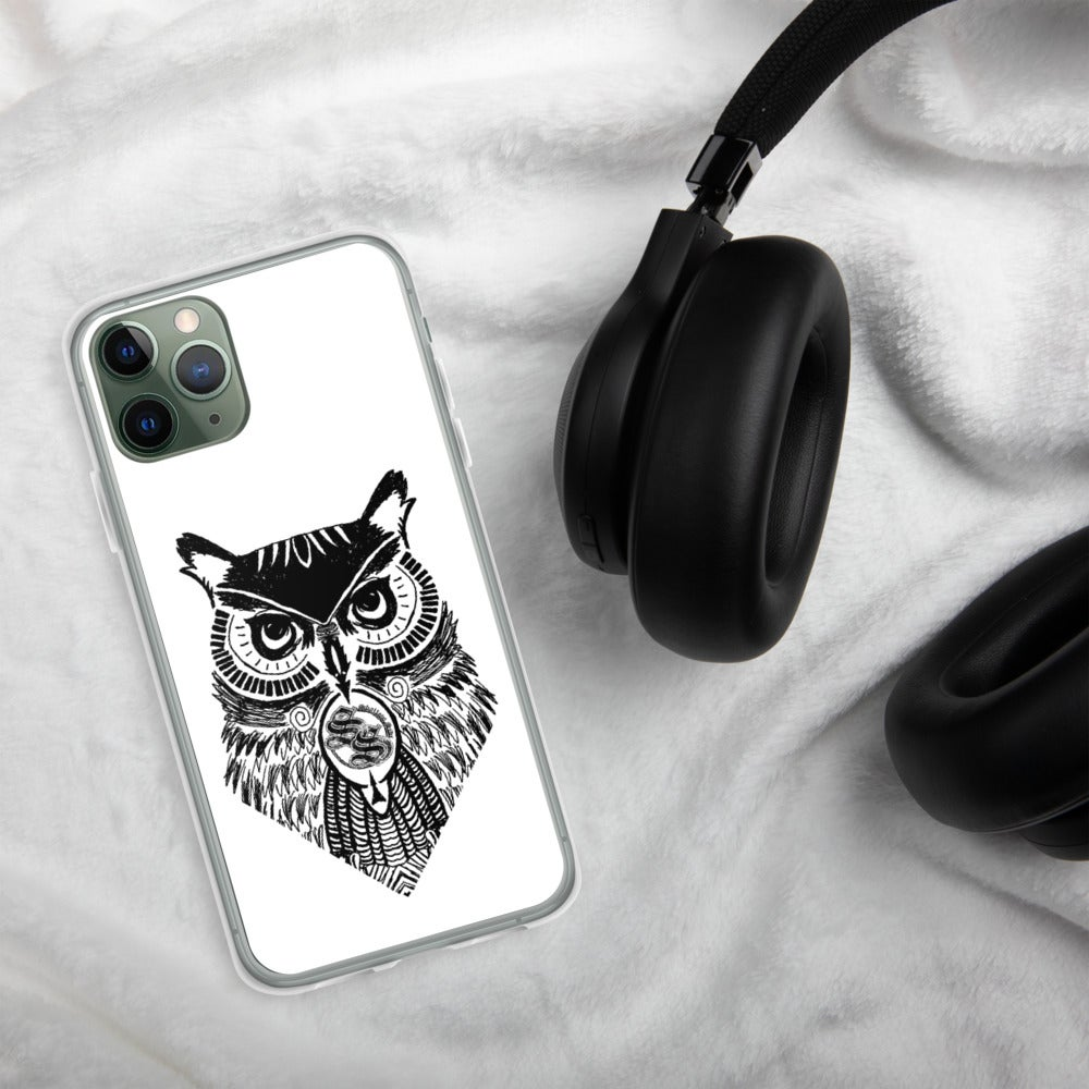 Shallow Side Owl iPhone Case