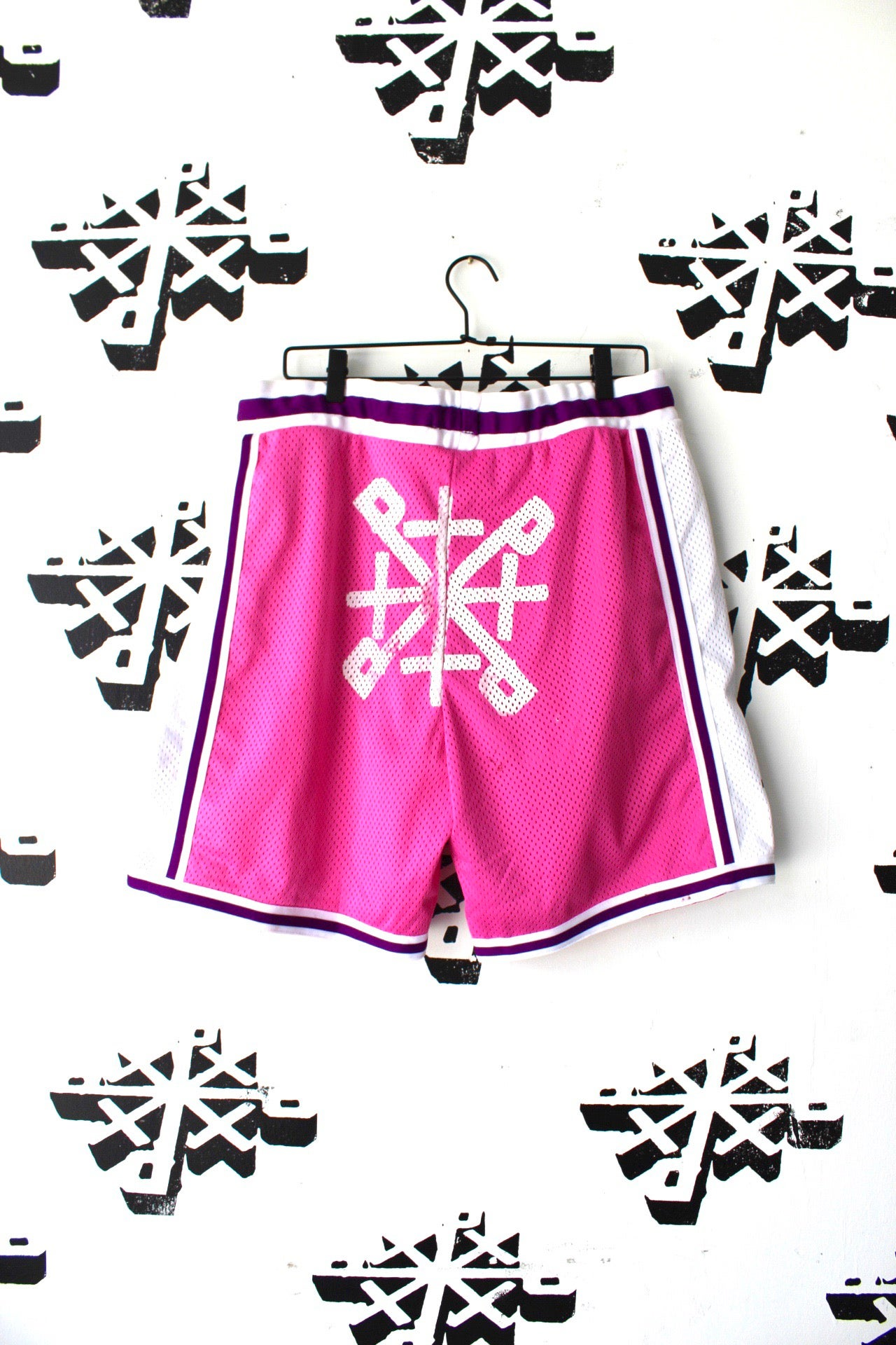 Image of beeen balling bball shorts in pink