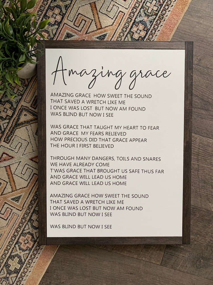 Image of Amazing grace