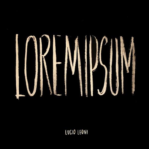 """Image of Lucio Leoni - """"Loremipsum"""""""