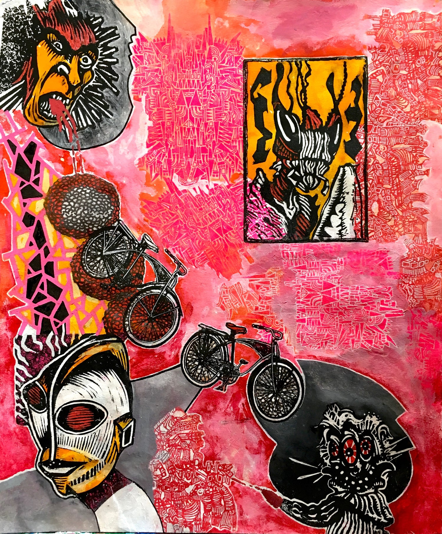 """Image of HAZE XXL/MARX (collaborative series) 8 of 9 """"Eat, Pray, Nub In The Teeth of Angels"""""""
