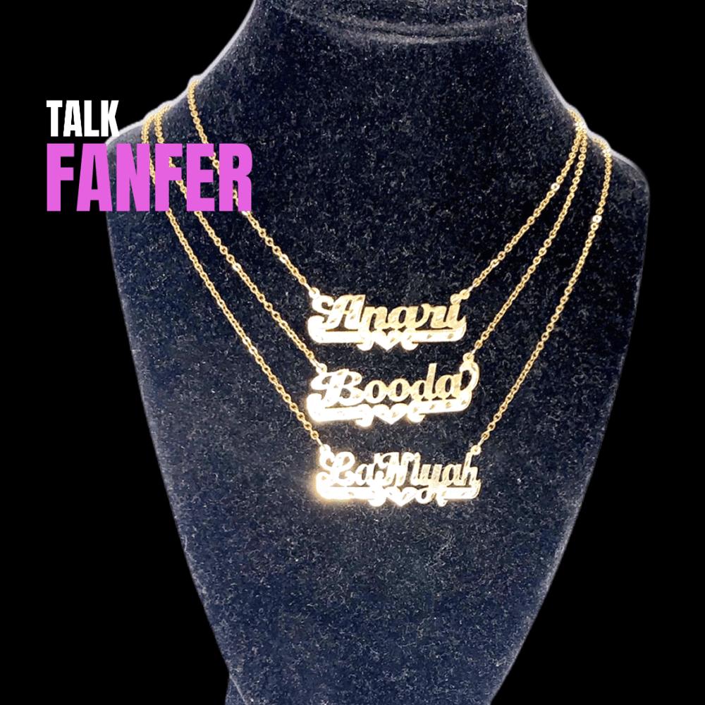 Image of $O $OLID Name Necklace