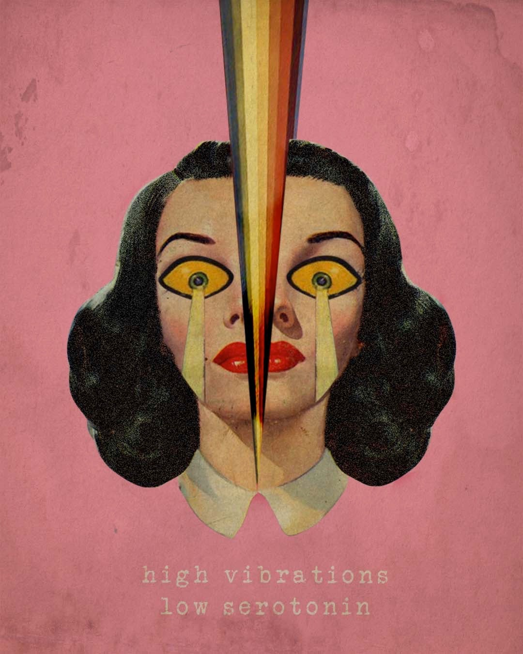 Image of High Vibrations Art Print