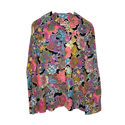 Image of Pastel Floral Blouse