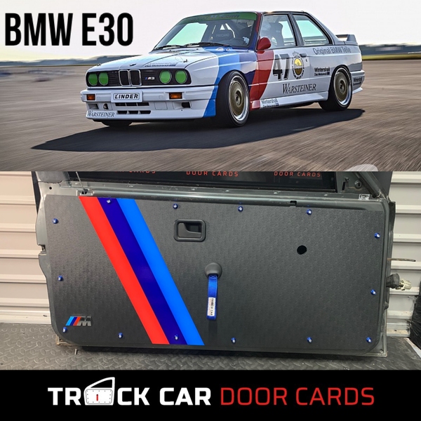 Image of BMW E30 Track Car Door Cards
