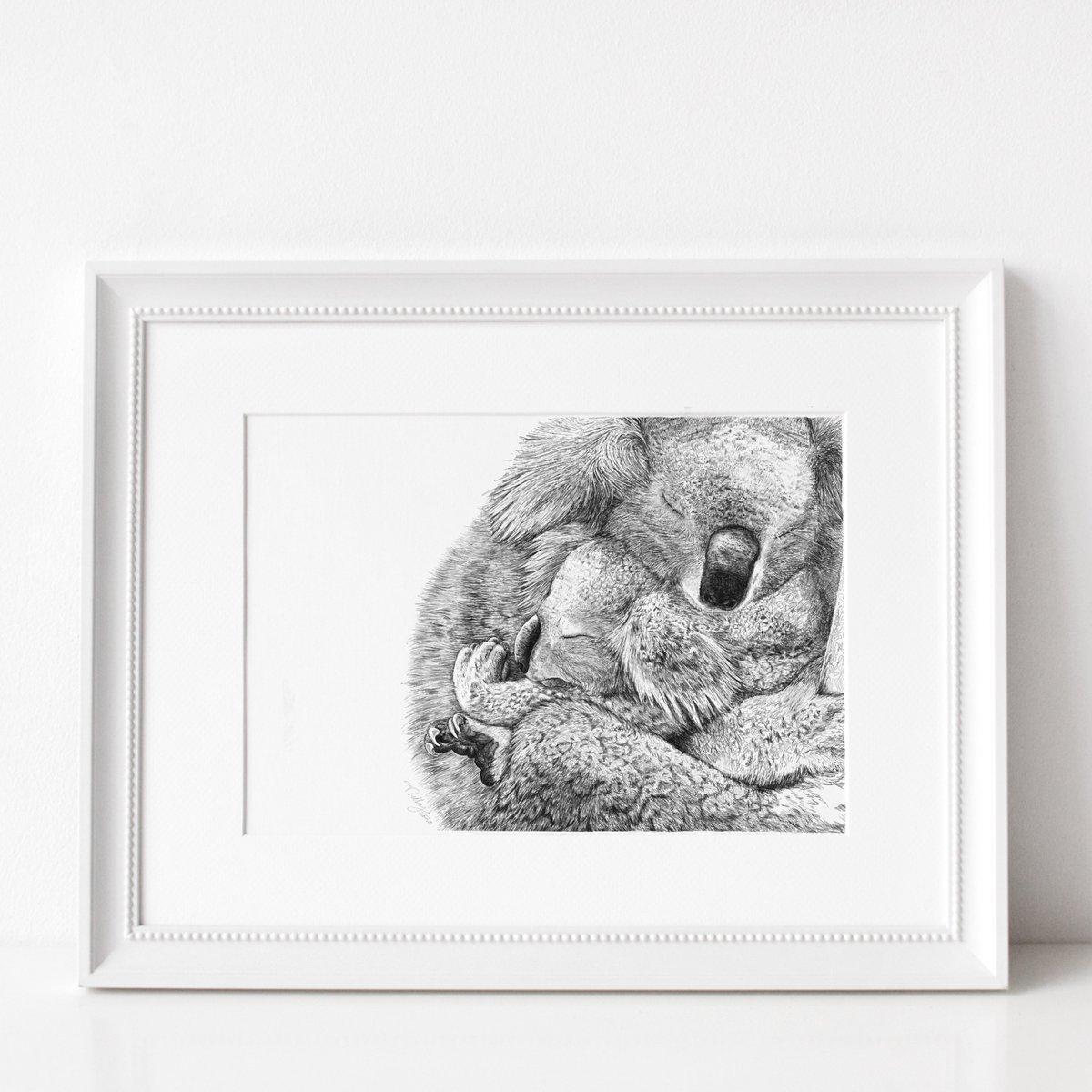 Image of Sleepy Koala - Mama Love
