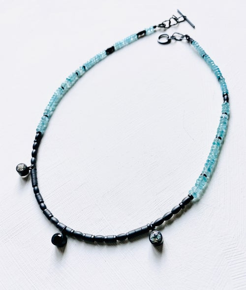 Image of Shanti necklace - Apatite