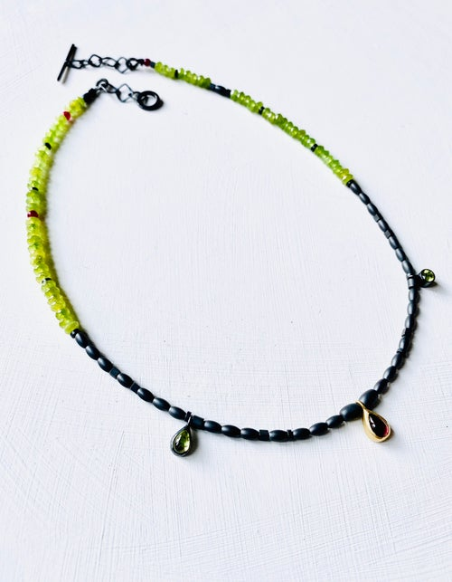 Image of Shanti necklace - Green Quartz