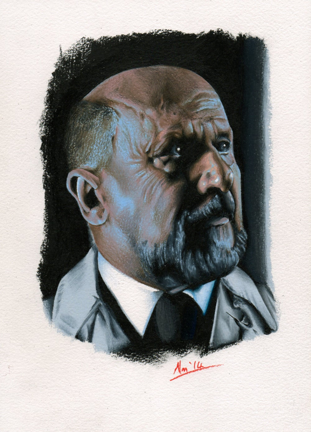 Original Drawing - Dr Loomis