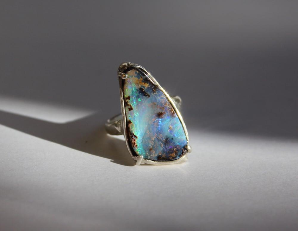 Image of Bermuda Galaxy Opal Ring