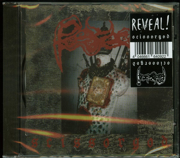 Image of REVEAL! - SCISSORGOD (CD)