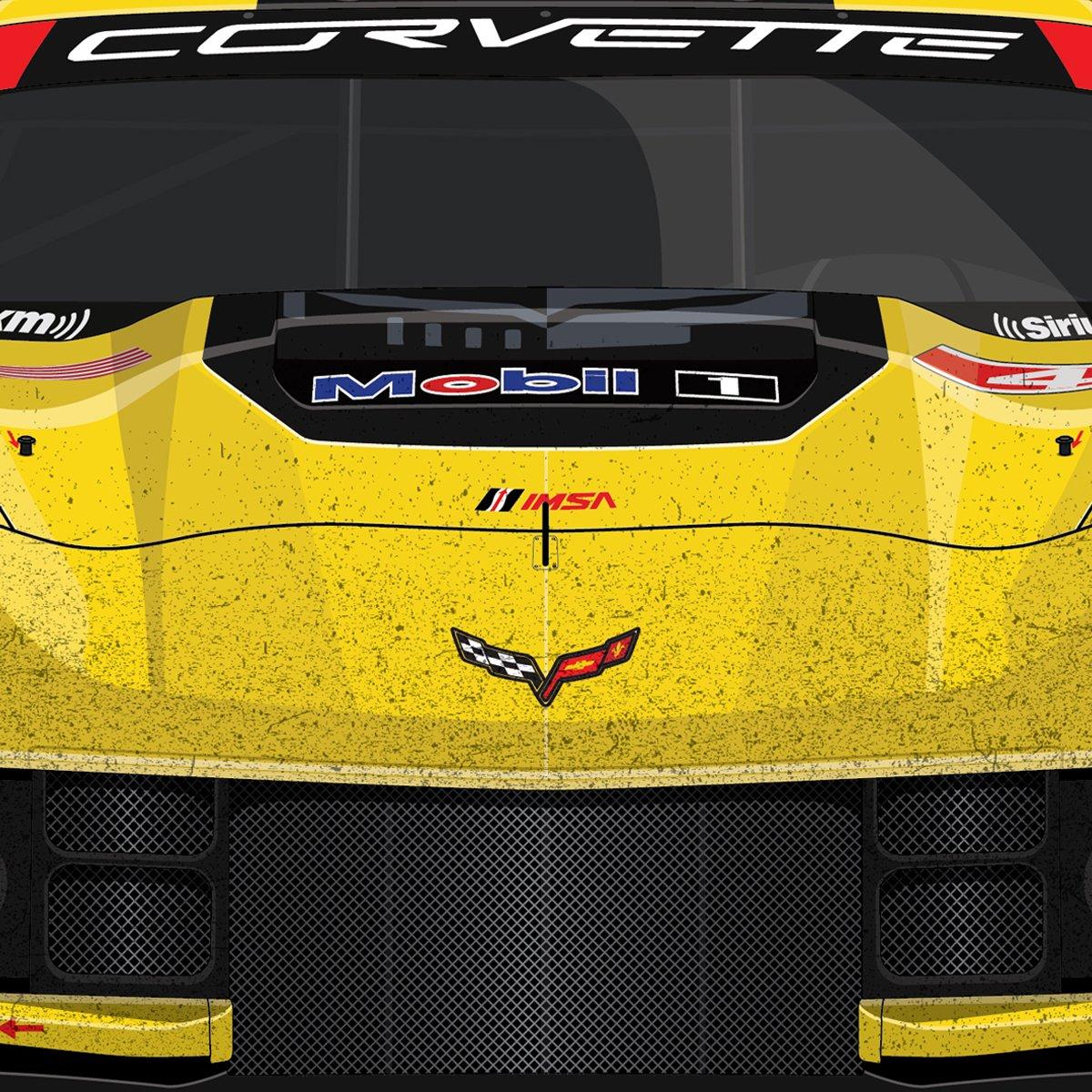 #4 Corvette C7.R. Rolex24 '16 (D1-025)
